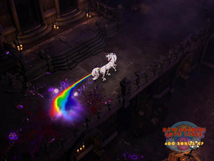 暗黑隐藏关卡:彩虹关卡全揭秘