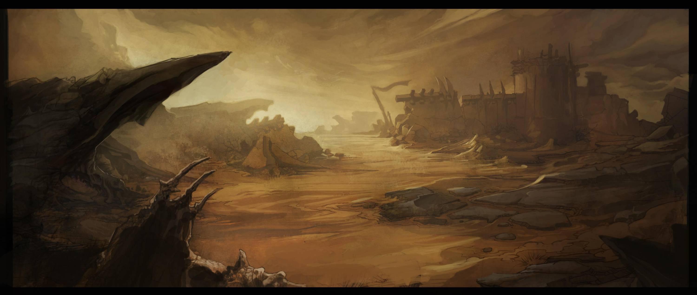 暗黑破坏神3中边境废土是什么地方?
